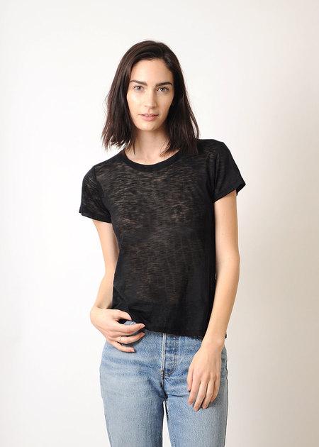Conifer Black Sheer T-Shirt