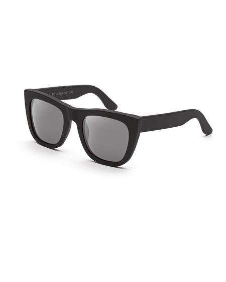 RetroSuperFuture Gals Sunglasses in Matte Black Mirror