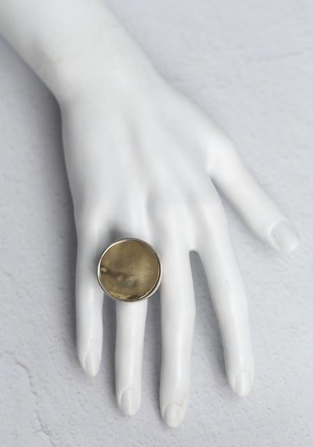 Simona Tagliaferri Large Circle Ring - Yellow Gold