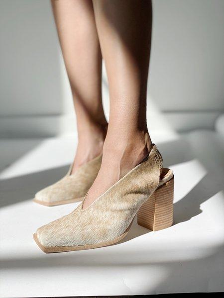 Wal & Pai Drexel shoes - Natural Calf Hair