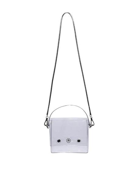 Nana Nana PVC Square Bag - Transparent