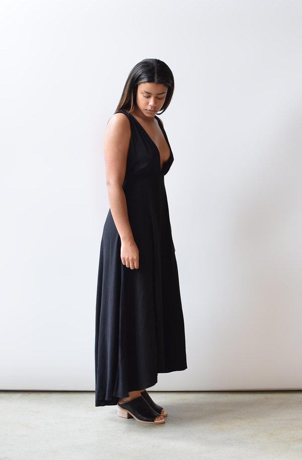 Lush Plunging Maxi Dress