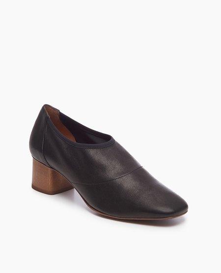 Coclico Eden Heel in Stretch Napa Black