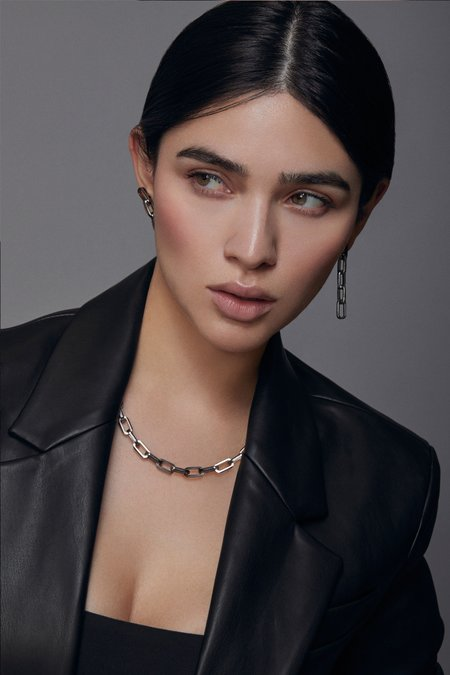 Joomi Lim Chain Necklace - Ruthenium