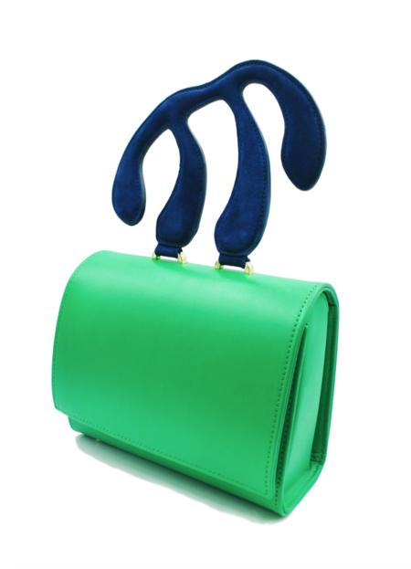 Dauphinette Bergere Bag - Emerald