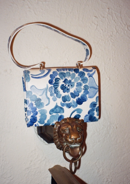 Dauphinette Flap Bag - Chinoisserie