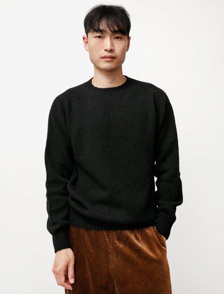 Neighbour Pure Shetland Wool Sweater - Black