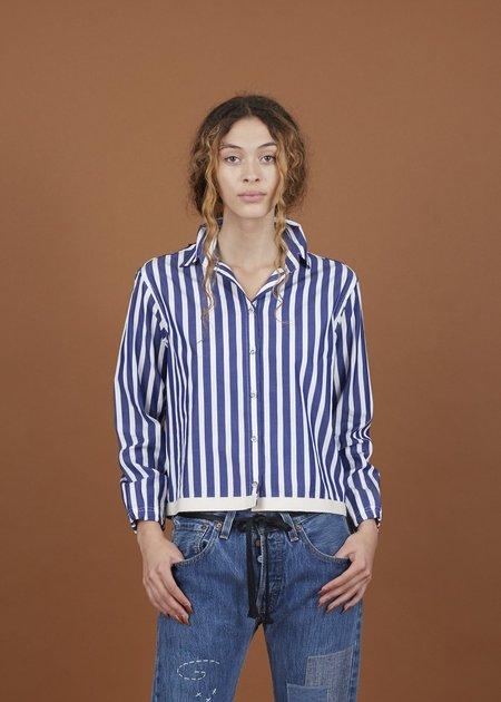 Harvey Faircloth Coach Shirt Jacket - Striped