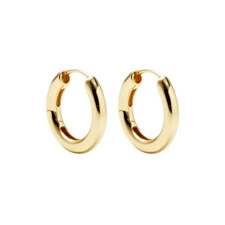 Machete Hinge Hoops - Gold