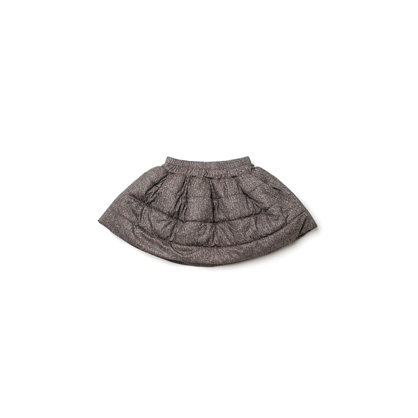 OMAMImini Taupe Quilted Skirt