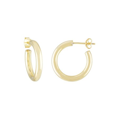 Machete mini hoops - gold