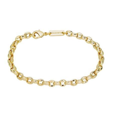 Machete nautical bead bracelet - 14k gold plating/brass