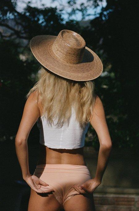 Lack of Color palma wide boater hat - natural