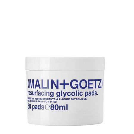 MALIN+GOETZ resurfacing glycolic acid pads - 50 pads/80ml
