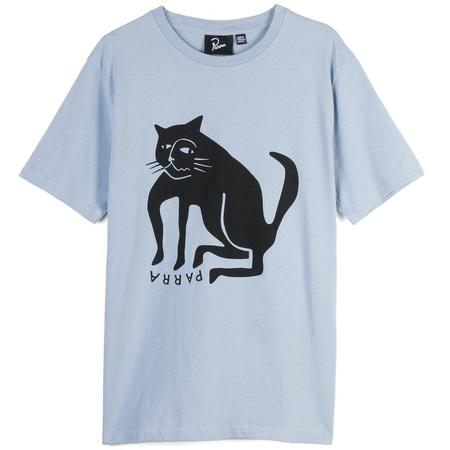 by parra llc Cat T-shirt - Blue