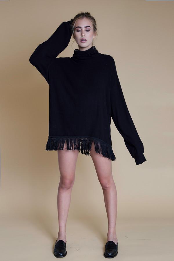BETWEEN TEN Oxford Knit Sweater