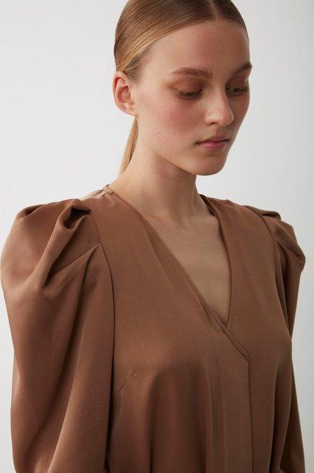Just Female Cady Dress - Walnut