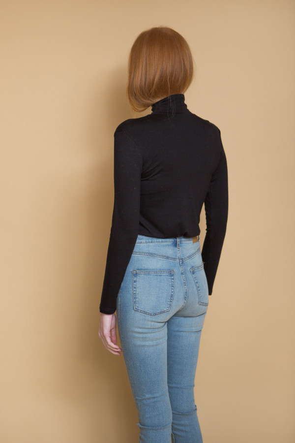 Cheap Monday Second Skin High Rise Jeans / Stonewash Blue