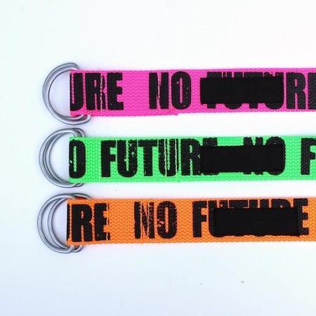 PEEL & LIFT NO FUTURE Easy Belt - Green