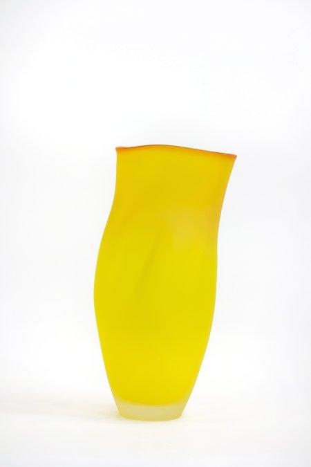 Jeff Goodman Ovelle Vase - Saffron