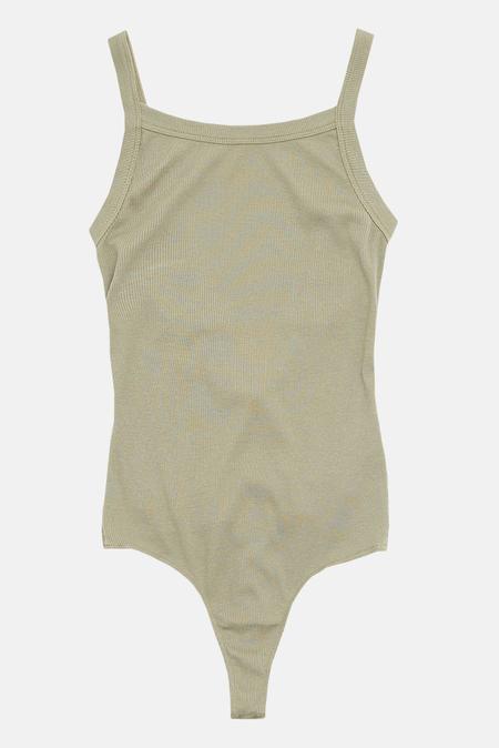 Cotton Citizen Verona Tank Bodysuit - Basil