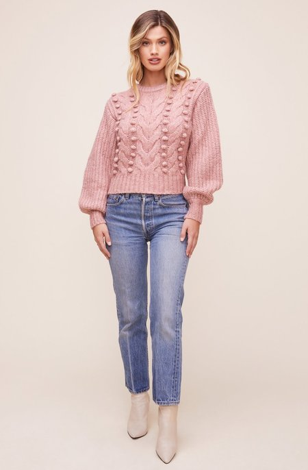 ASTR The Label Tina Sweater - Dusty Rose