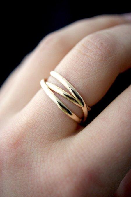 Hannah Naomi Infinity Spiral Ring