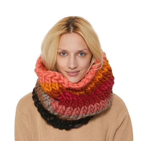Mischa Lampert large snood - sunset