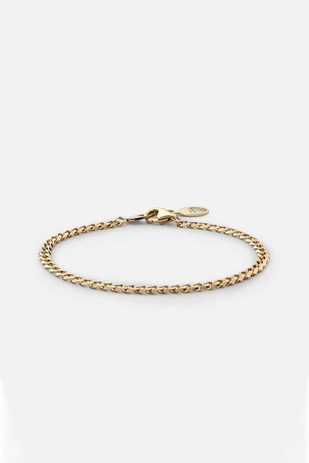 MIANSAI CUBAN LINK BRACELET - POLISHED GOLD