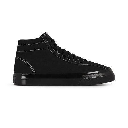 Stepney Workers Club Varden Canvas Sneakers - Black/Black