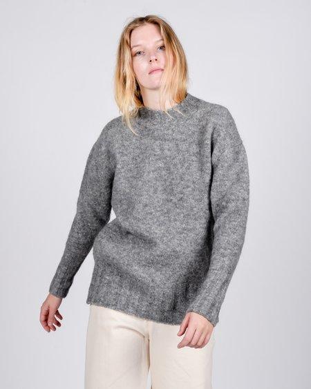 Unisex Paloma Wool Rodriguez Alpaca Sweater - Mid Grey