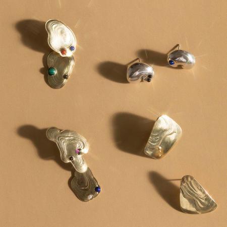 Leigh Miller Jewelry Dali Dangles earrings - Brass
