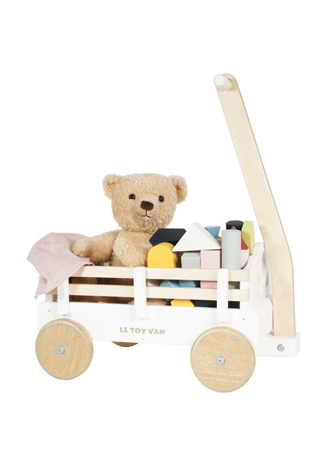 Kids Le Toy Van Pull Along Wagon Cart