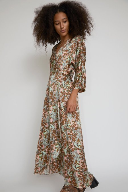 No.6 Georgia Wrap Dress - Floral