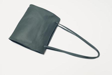 Leather Crown Lady Bag - Jade