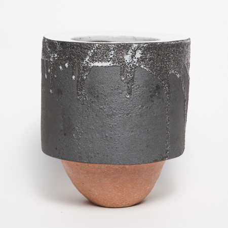 Bzippy & Co. Black Medium Planter