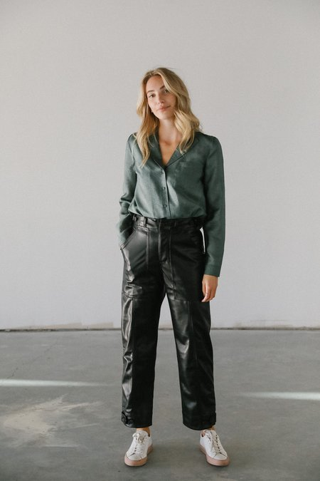 Just Female Mae Shirt - Green