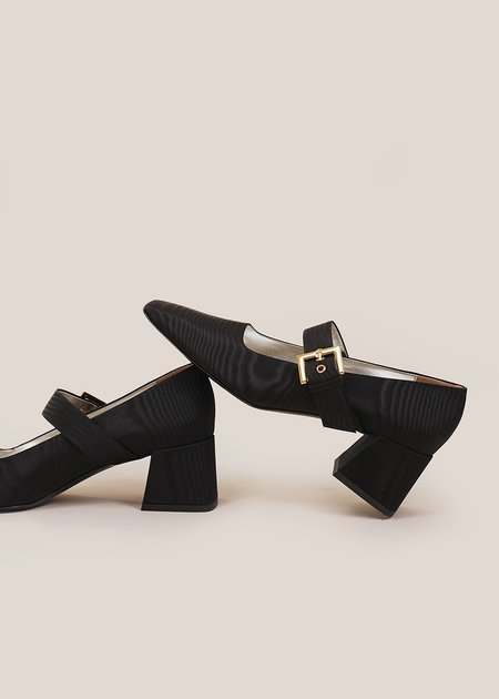 Suzanne Rae Moire Closed Maryjanes