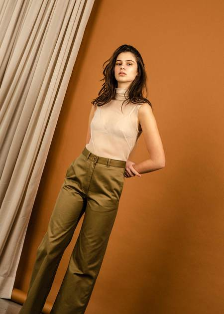 Penny Sage Kizzy Trouser - Bronze