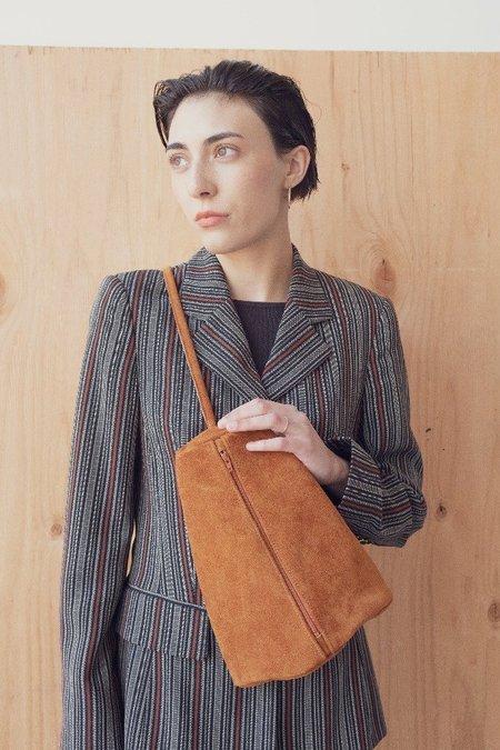 Hannah Emile Prisma Sling Bag - Toast Suede