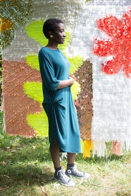 Valerie Dumaine Odessa Dress - Peacock
