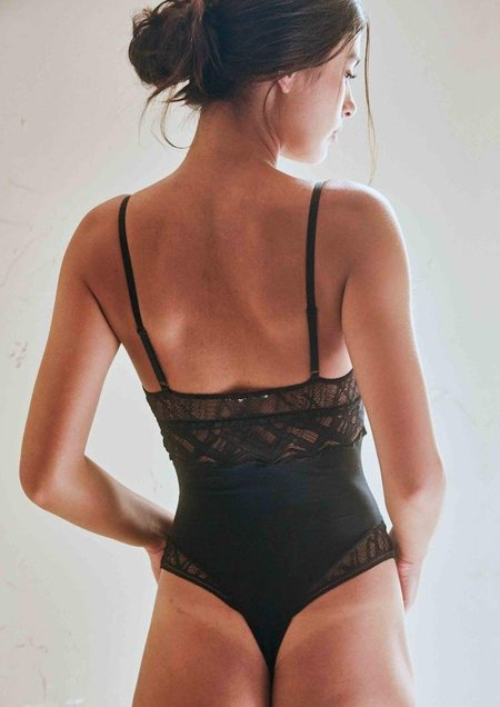 The Great Eros Sonata Bodysuit - Black