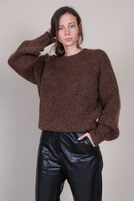 Sayaka Davis Cocoon Sweater - Coffee