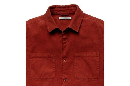 Outerknown Townes Corduroy Shirt - Henna