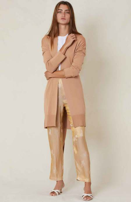 Forte Forte Belted Cardigan - CAMMELLO