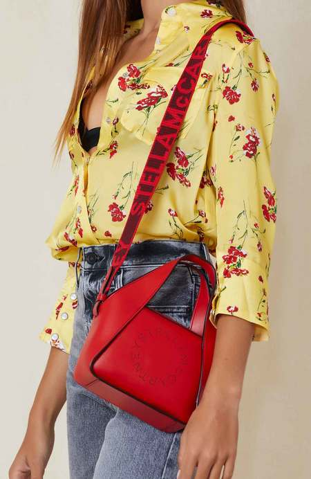 STELLA MCCARTNEY Small Tote Eco Soft - Red Amore