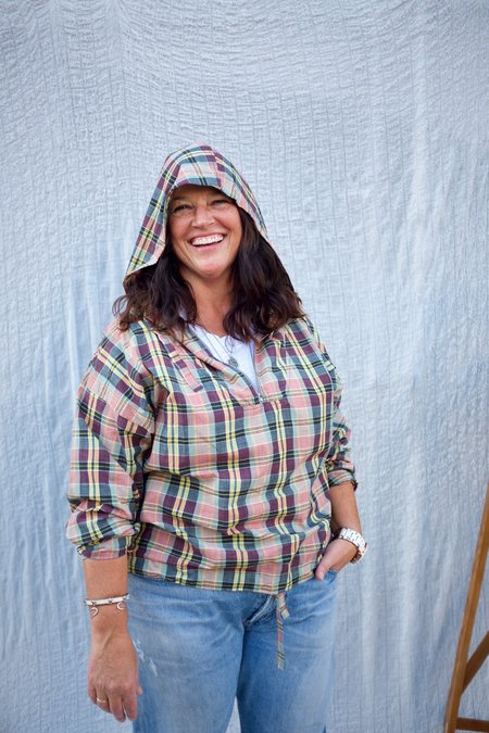 Girls of Dust Army Smock - Madras Check/Multi