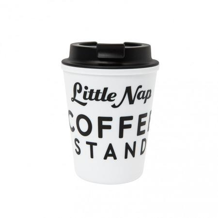 POET MEETS DUBWISE Little Nap Coffee Mug - White