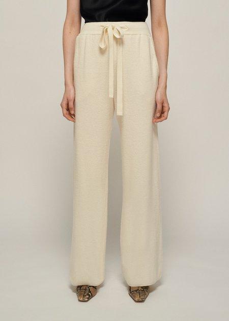 Nanushka Oni Knit Pants - Cream