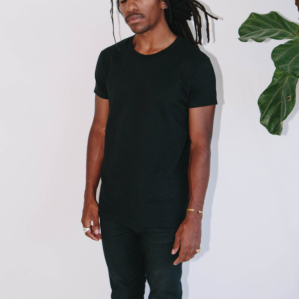 Basic Rights Heavy Weight T-Shirt, Black